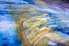 Måla konstnärlig ljus textur för olje- målarfärger för färg göra sammandrag konstverk Modern futuristisk modell för grungetapet Royaltyfria Foton