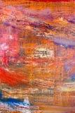 Måla konstnärlig ljus textur för olje- målarfärger för färg göra sammandrag konstverk Modern futuristisk modell för grungetapet Arkivbild