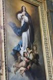 Måla på basilikan av Rome Royaltyfria Foton