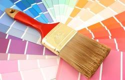 måla provkartor royaltyfri fotografi
