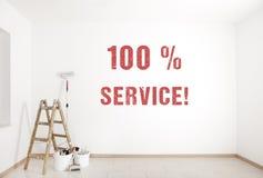 Måla service Royaltyfri Fotografi