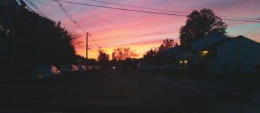 måla skyen Arkivfoton