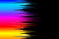måla spectrumen Arkivbild