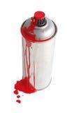 måla spray royaltyfria foton