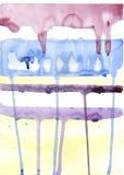 måla strimmor arkivbild