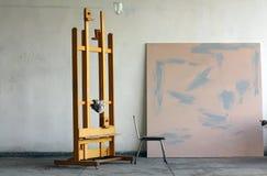måla studion Arkivbild