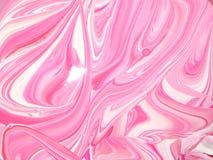 måla swirls Arkivbilder