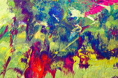 måla textur Royaltyfria Foton