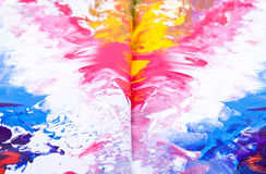 måla textur Arkivfoto