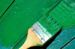 måla väggen Royaltyfria Foton