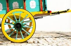 måla vagnen din Arkivbilder