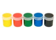 måla vattenfärgen Royaltyfria Bilder