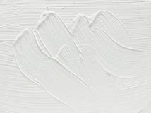 måla white Fotografering för Bildbyråer