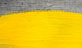 måla yellow Arkivfoton