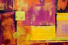 målad abstrakt bakgrund vektor illustrationer