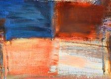 målad abstrakt begrepp Arkivbild