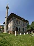 (Målad) Aladza moské, Tetovo, Makedonien, Balkans Royaltyfri Foto