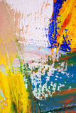 målad asbackgroundkanfas Arkivfoton