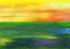 målad bakgrund stock illustrationer
