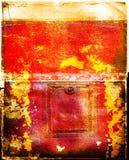 målad bakgrundsgrunge Royaltyfri Foto