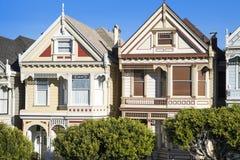 Målad damtoalett, San Francisco royaltyfria bilder