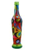 målad flaska Royaltyfri Fotografi