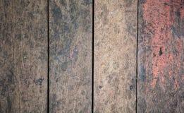 Målad gammal åldrig färg texturerade grov naturlig träbakgrund för brädet för panelen för staketgolvväggen i arkitektonisk inrega Royaltyfri Bild