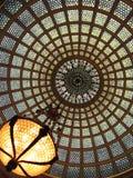 Målad glastak 2 Arkivbilder