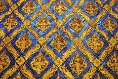 Målad glasvägg Royaltyfri Fotografi
