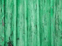 Målad grön wood yttersida, med en abstrakt uttrycksfull vertikal linje textur Pastellfärgad bakgrund för design Kopieringsdegutry Royaltyfria Foton