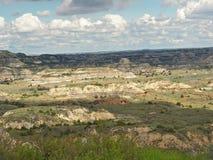 Målad kanjon, Medora, North Dakota royaltyfri foto