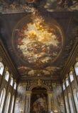 Målad korridor i Greenwich Royaltyfri Bild