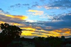 målad sky Royaltyfri Foto