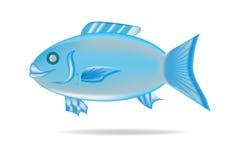 Målad sweetlipfisk royaltyfri illustrationer