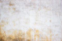 Målad textur rostade staketet för metall för järnbakgrund det gamla Arkivfoto