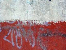 målad vägg Arkivbild