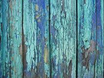 Målad wood yttersida för pastellfärgad turkos, med en abstrakt uttrycksfull vertikal linje textur Pastellfärgad bakgrund för desi Fotografering för Bildbyråer