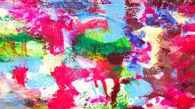 Målade den olorful texturerade handen för abstrakt Ñ- bakgrund Royaltyfria Foton