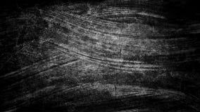 Målade den svarta vita vattenfärghanden för mörk grunge borsteslaglängder abstrakt bakgrundslinjer Livliga aquarellevågor Stuckat vektor illustrationer