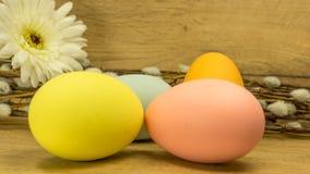 målade easter ägg fotografering för bildbyråer