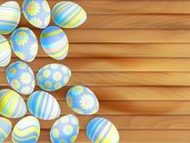 målade easter ägg 10 eps Royaltyfri Fotografi