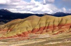 målade kullar Royaltyfri Foto