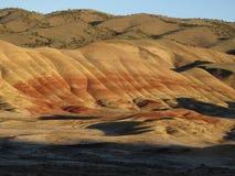Målade kullar Arkivbilder