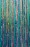 Målade plankor, tappningbakgrund Arkivbilder