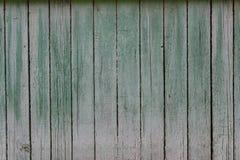 Målade släta plankor för träväggbakgrund frontally royaltyfria foton