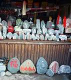 Målade stenar Fotografering för Bildbyråer