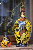 Målade vaser Arkivfoton