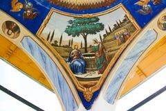 målande klosterbroder iii Royaltyfri Bild