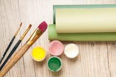 målande set Fotografering för Bildbyråer