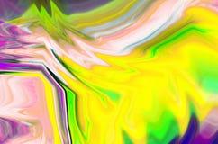 Målar abstrakt bakgrund för fantasin av en blandningfärg royaltyfri illustrationer